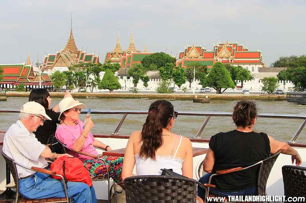 Afternoon River Cruise Bangkok Chaophraya River & Lunch