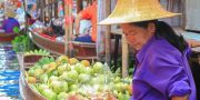 Damnoen Saduak Floating Market Tour Bangkok Half day Tour