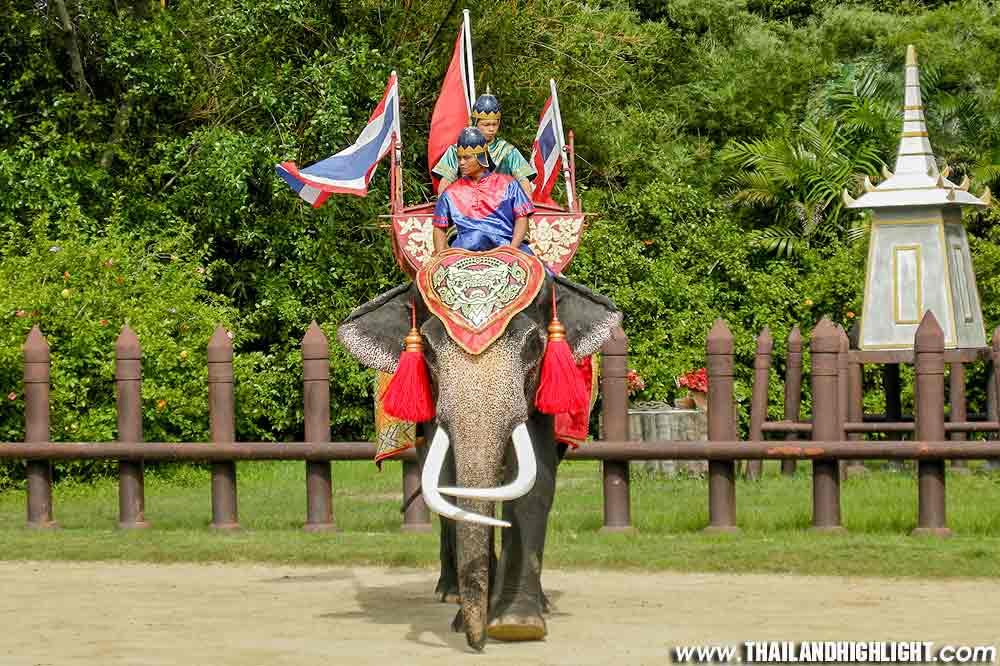 Elephant Theme Show & Crocodile Farm at Samphran Tour