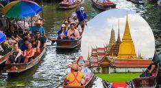 Damnoen Saduak Floating Market and Grand Palace Tour