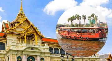 Grand Palace Bangkok and Bangkok Canal Tour