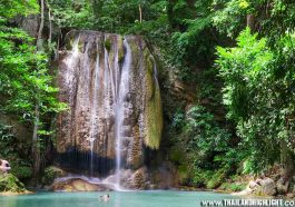 Kanchanaburi Package Tour 2 days 1 Night from Bangkok & Erawan Fall