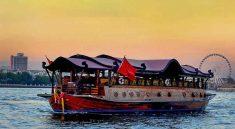 Manohra Dinner Cruise Bangkok Luxury Dinning Thailand