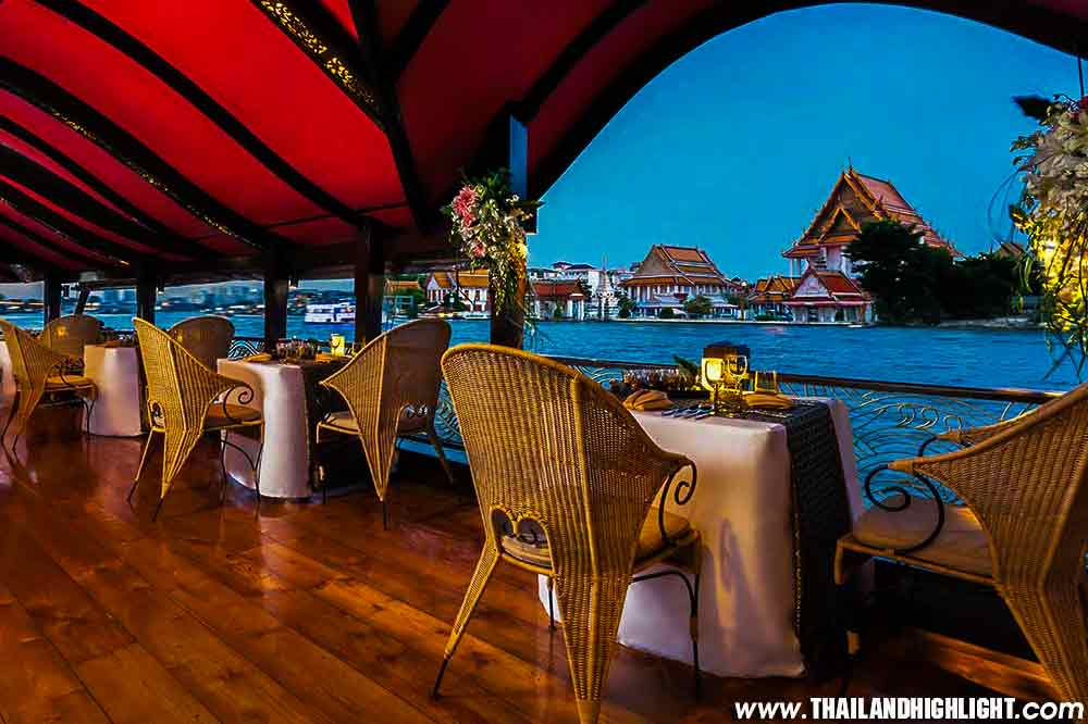 Manohra Dinner Cruise Bangkok Luxury Dinning Thailand