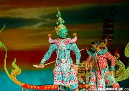 Best Thai Traditional Dance Show Bangkok at Nopparat Thai Classical Dance & Restaurant