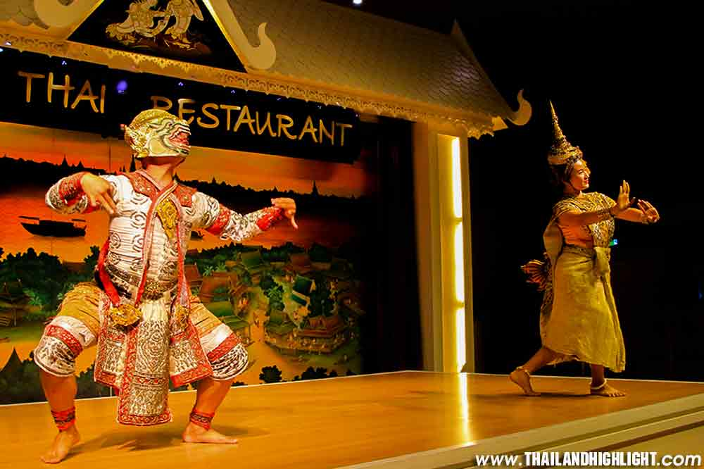 Thai Dinner Classical Dance and Calypso Cabaret Show