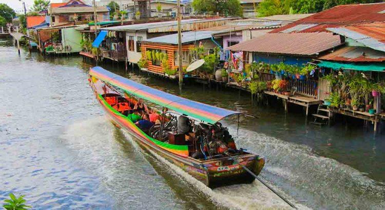 Morning Canal Tour Longtails Boat Klong Tour Bangkok