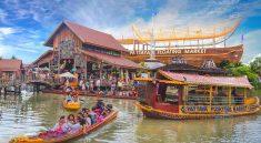 Amazing experience in Pattaya, visit Pattaya Floating Market Tour.