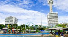 Pattaya Water Park Amusement Park Tower