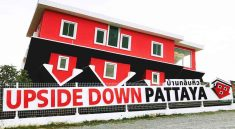 Ticket Price Entrace Fee Discount Booking for Upside Down Pattaya, Thailand. upside down house in Pattaya. Enjoy to see the most lopsided house ever built