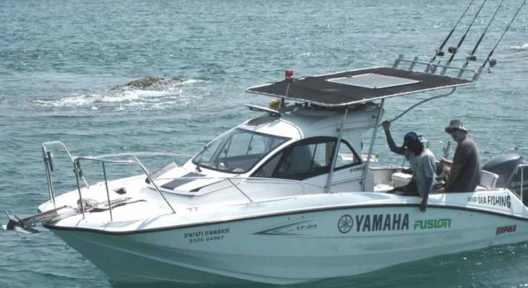 Charter private boat Pattaya, experience famouse Pattaya fishing tour with deep sea fishing Pattaya full day trip inlcuding as rods,reel,gaits,fishing guide