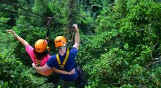 Zipline Pattaya Booking Discount Price,reviews to Best Adventure Trip with Flight of the Gibbon Pattaya Tour.inside Khao Kheow open Safari Park with lunch
