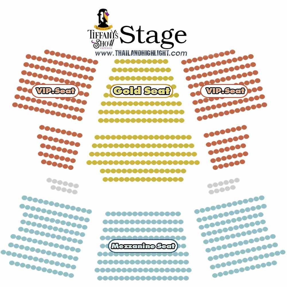 Tiffany Show Pattaya Seating Plan Best cabaret show Pattaya