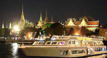 Bangkok Dinner Cruise on the Chao phraya river by Alangka Cruise.Popular dinner cruise at Bangkok,Thailand. Reservation promotion discount ticket price book
