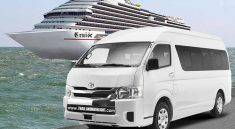 Bangkok van rental from cruise Laem Chabang ship ports terminal for day tour in Bangkok.Private transportation for trip in Bangkok & back to Laem Chabang
