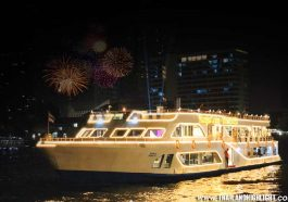 Where to spend new year's eve in Bangkok,Thailand. Best one for visitor must to go for Countdown 2021 with New Year Eve Dinner Cruise Bangkok Alangka Cruise