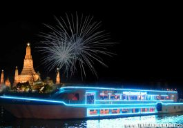 New Year Eve in Bangkok Where to go? Recommend to rooftop top deck seat with New Years Eve Party Bangkok Royal Princess Cruise,best viewfireworks Nye 2021