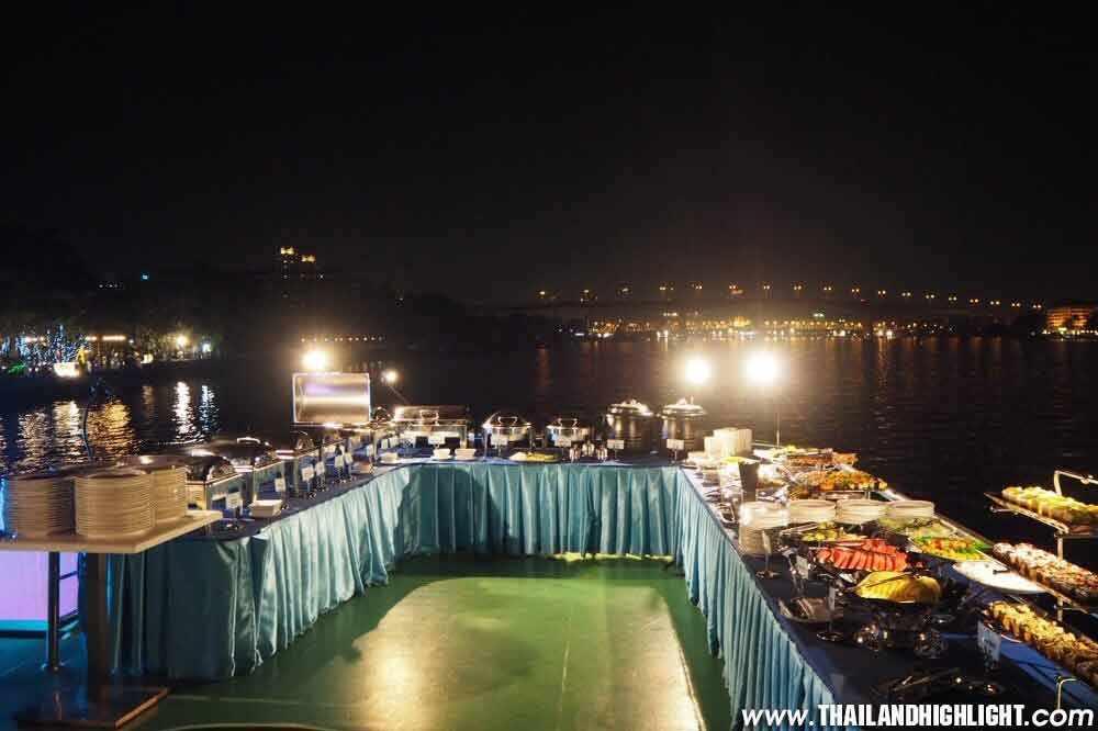 Bangkok Dinner Cruise Booking to Royal Princess Cruise Bangkok River Dinner Cruise with discount price promotion lower cost ticket booking & reservation now