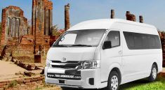 Private transport with Van rental Bangkok to Ayutthaya with driver for your travel trip,business,golf courses in Ayutthaya Van hire from Bangkok - Ayutthaya