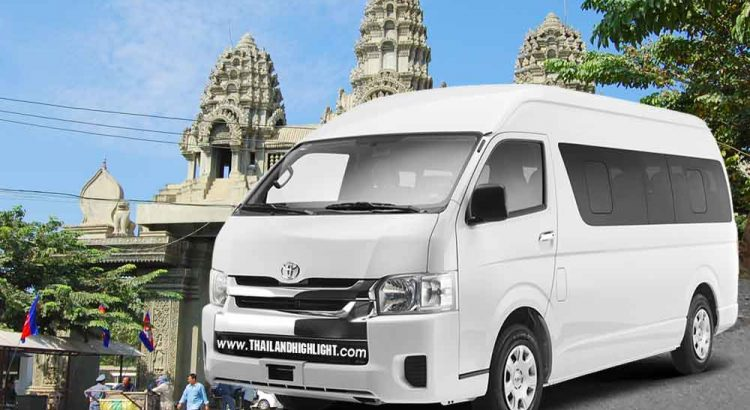 Transport to Poipet by Van Rental Bangkok to Aranyaprathet Thai Cambodia border with driver for your bussiness, contection trip holiday travel to Siem reap