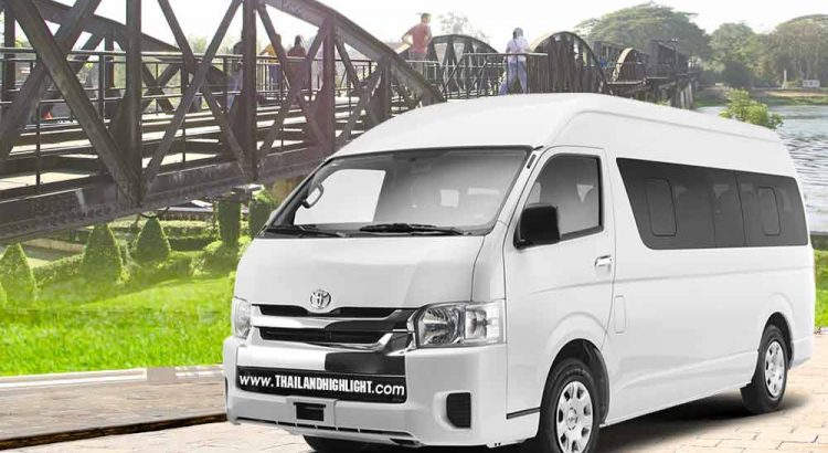 Private transport with Van rental Bangkok tokanchanaburi with driver for travel trip,business,golf courses in Ayutthaya Van hire from Bangkok Kanchanaburi