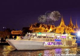 Where to celebrate new year's eve in Bangkok,Thaialnd.Countdown & New Year Eve Bangkok 2021 Chao Phraya Princess Cruise, Ticket Reservation Booking Online