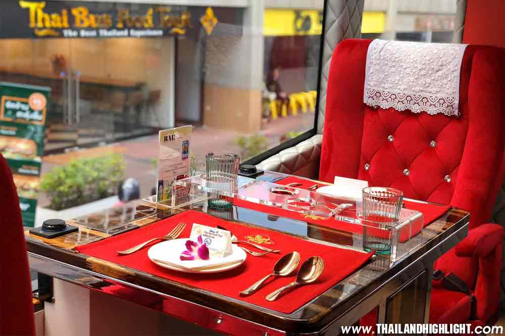 Experience sightseeing bus tours by Thai bus food tour 4 time per day,Bangkok night tour bus and day tour with travel to landmark, Booking Price Promotion