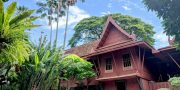Private Bangkok tour to famous museum, Jim Thompson House Bangkok Suan Pakkad Palace, offer discount Jim Thompson House museum entrance fee ticket promotion