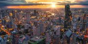 Offer discount promotion of King Power Mahanakhon Skywalk Ticket Price.Enjoy Bangkok's iconic best views Bangkok at Mahanakhon SkyWalk Tickets Price booking