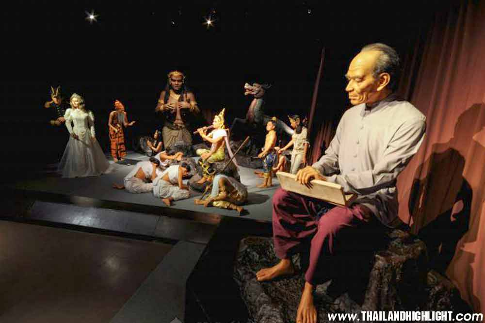 Private Trip Bangkok to Thai Human Imagery Museum Ticket Admission Fee Booking,enjoy to see fiberglass museum in Thailand exhibiting more than 100 models